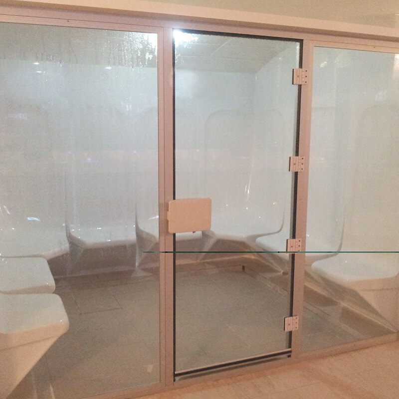 Steam Glass Door By Sonic And Suana